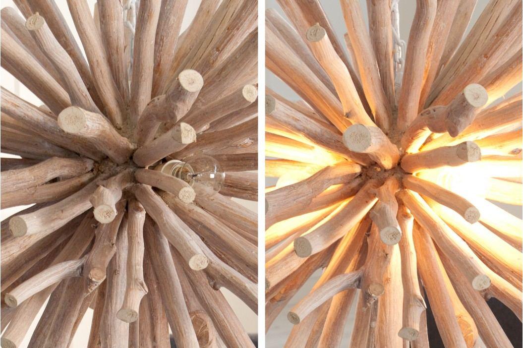 Visiaca lampa EUFORIA - prírodná