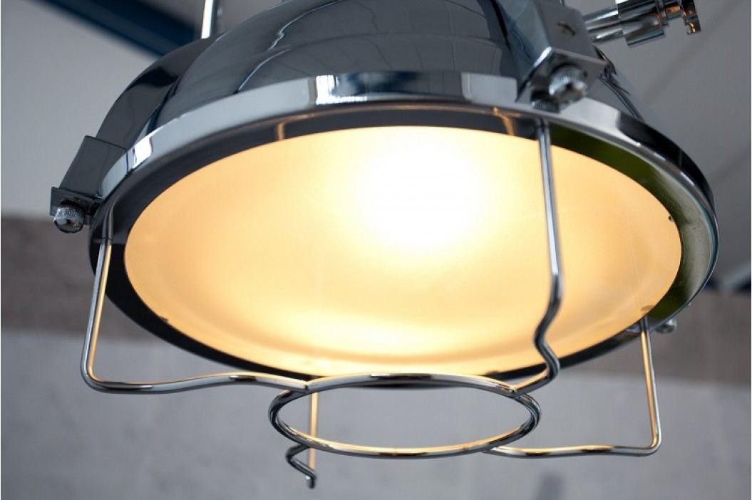 Visiaca lampa INDUSTRIE II - chromová