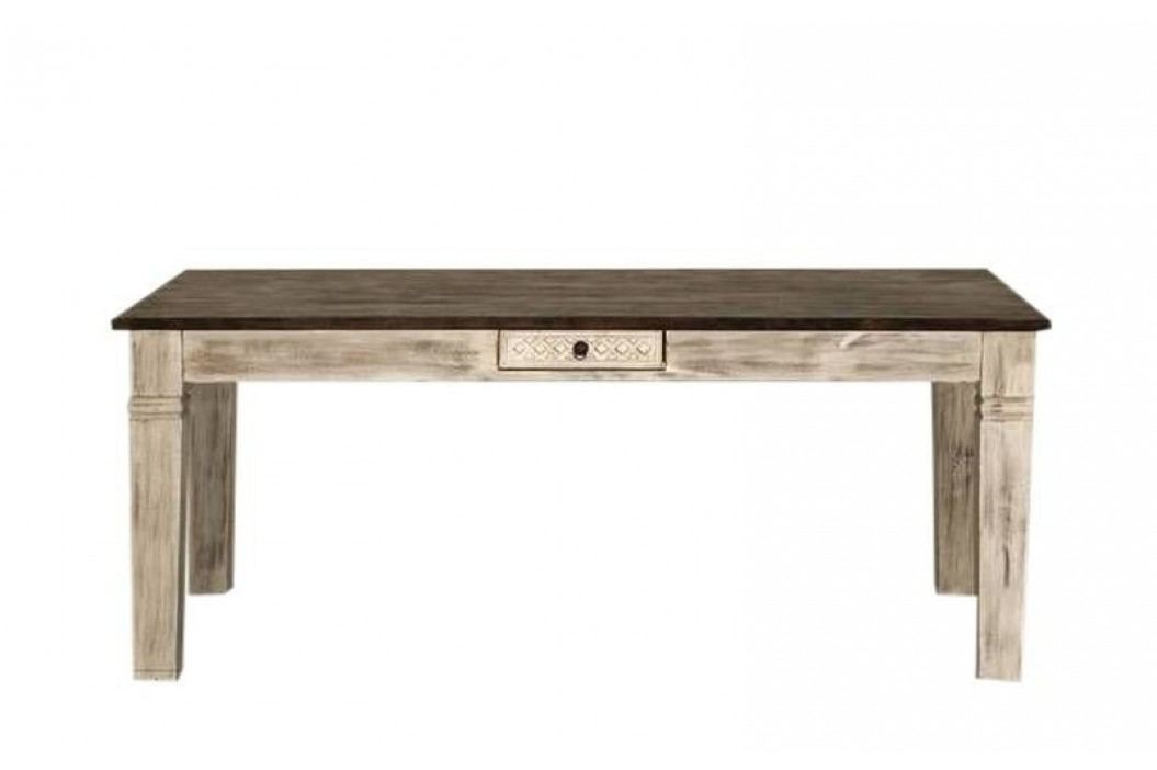 ANTIK jedálenský stôl mango 150x90 cm
