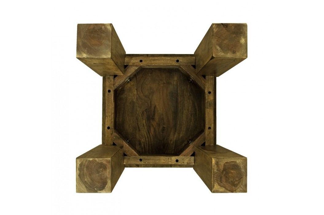 MONTANA Masívny indický palisander, príručný stolík