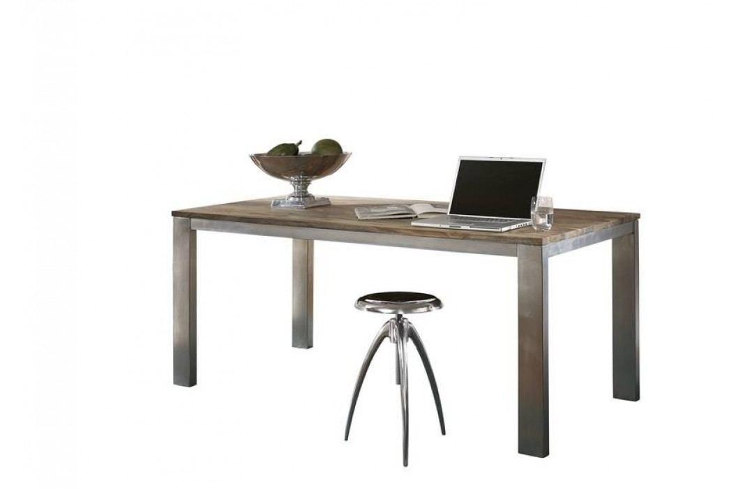 GREY WOOD Masívny indický palisander, jedálenský stôl 198x100