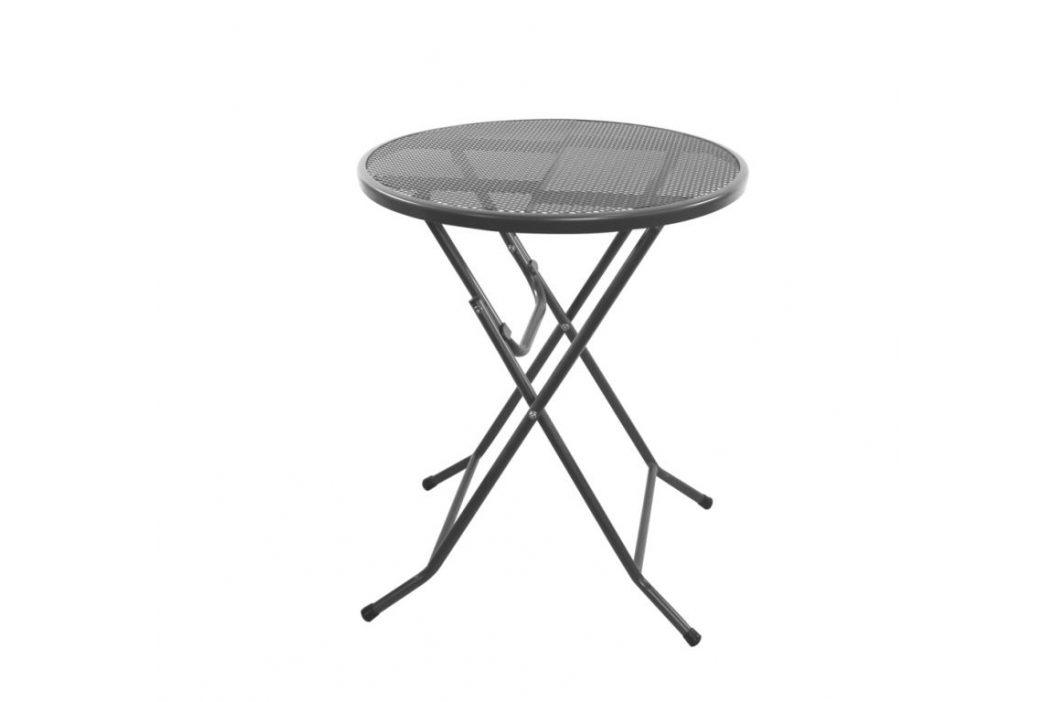 Záhradný kovový skladací stôl ZWMT-60F - 72 x 60 x 90 cm
