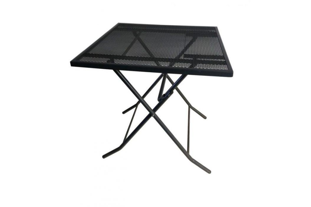 Záhradný kovový stôl ZWMT-70F - 72 cm, skladací