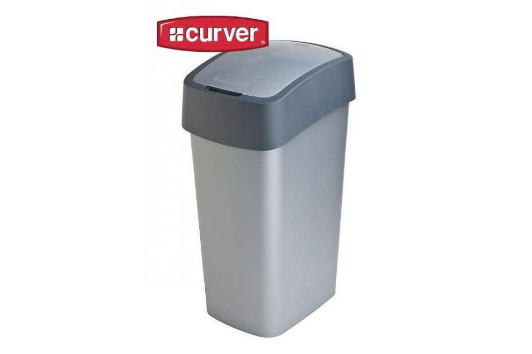 Odpadkový koš FLIPBIN 50l - šedý CURVER