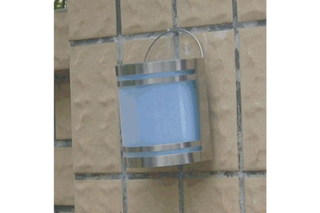 Solárne záhradné nástenné LED svietidlo z nerez ocele Garth