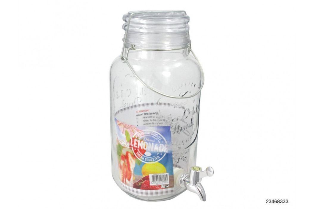 Dóza sklo s ventilom 4L