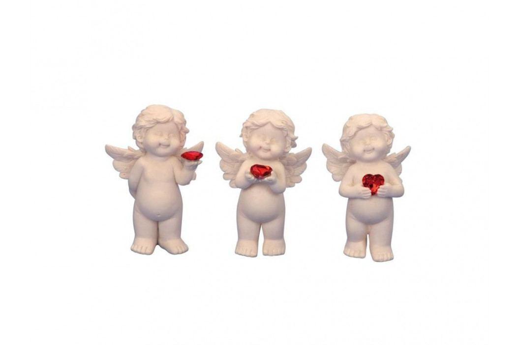 Anjel so srdcom 10,5cm mix
