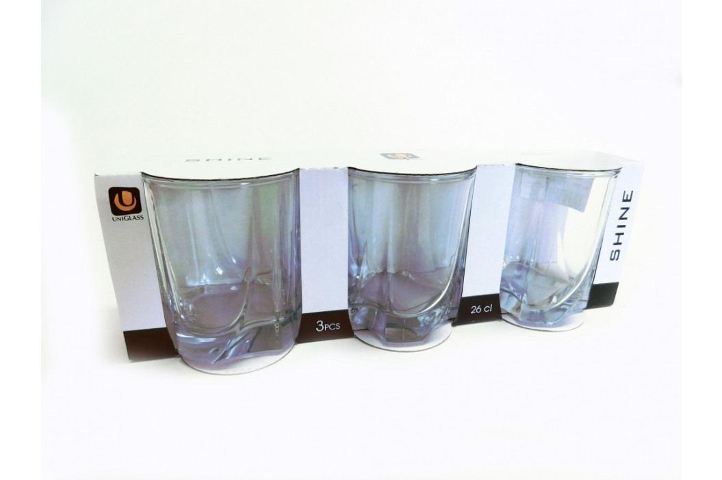 Pohár sklo - whisky 3 ks - SHI