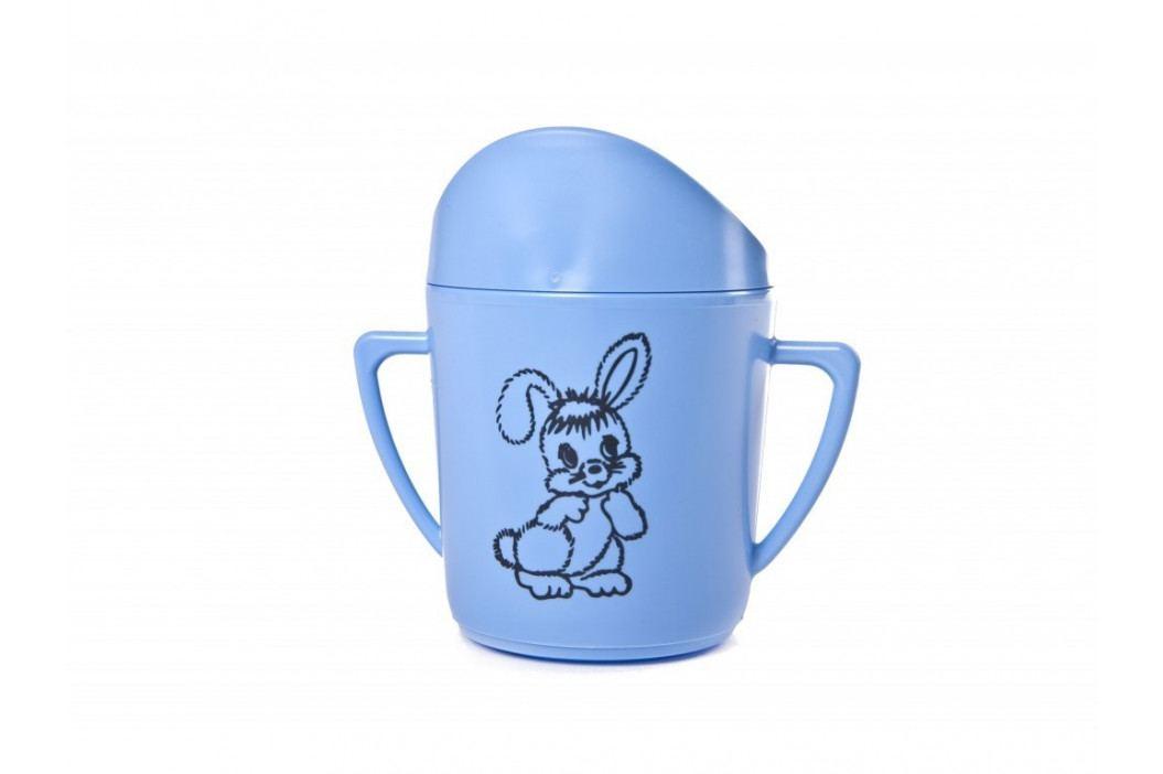 Hrnček kojen. modrý + potlač