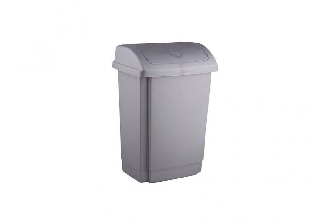 Kôš na odpadky SWING 15L šedý