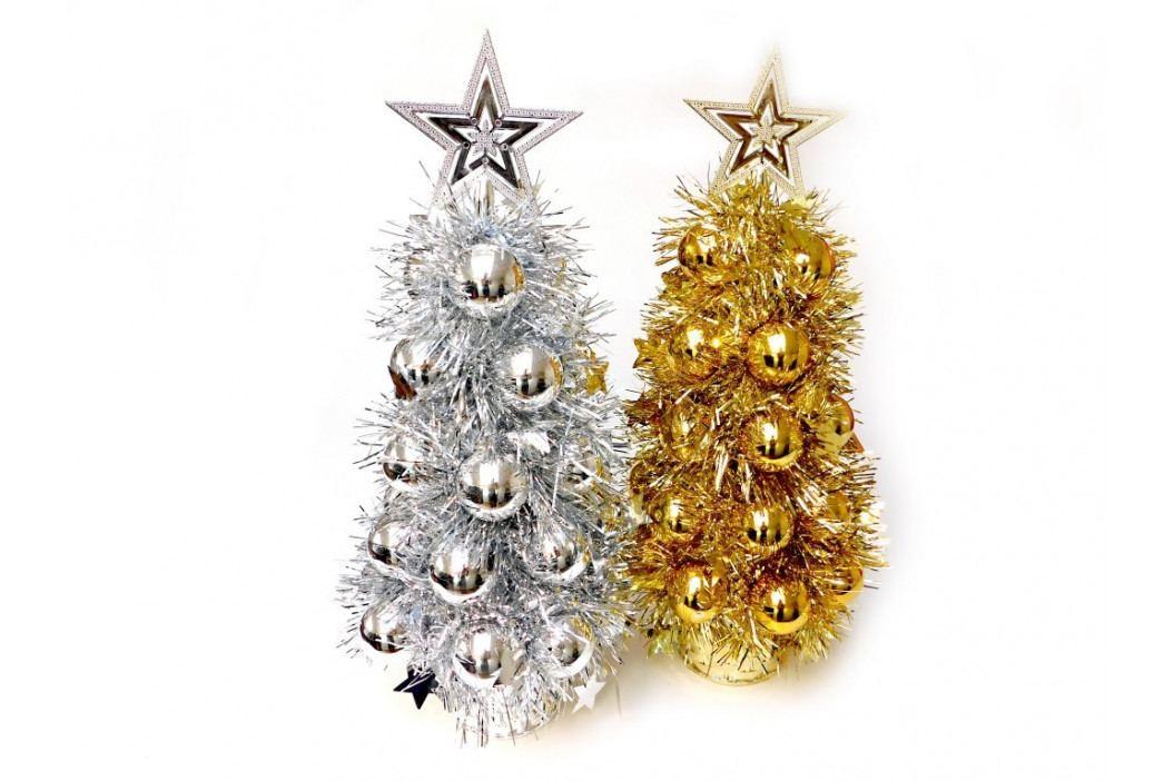 Stromček vianočný zdobený 38cm