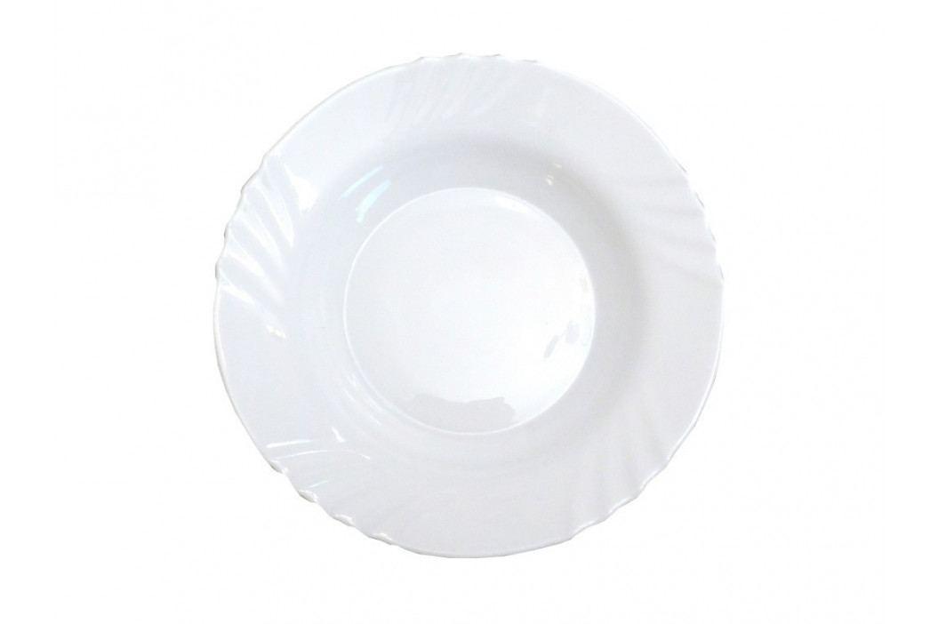 Tanier okrúhly hlboký sklo