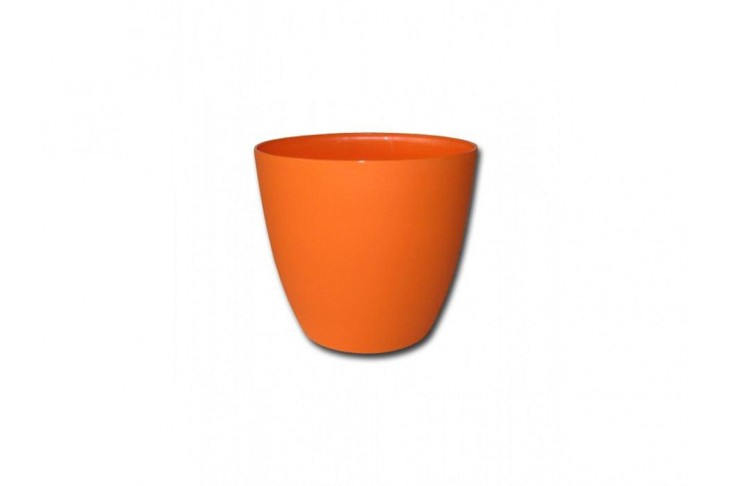 Dekor. kvetináč ELLA 18 oranž