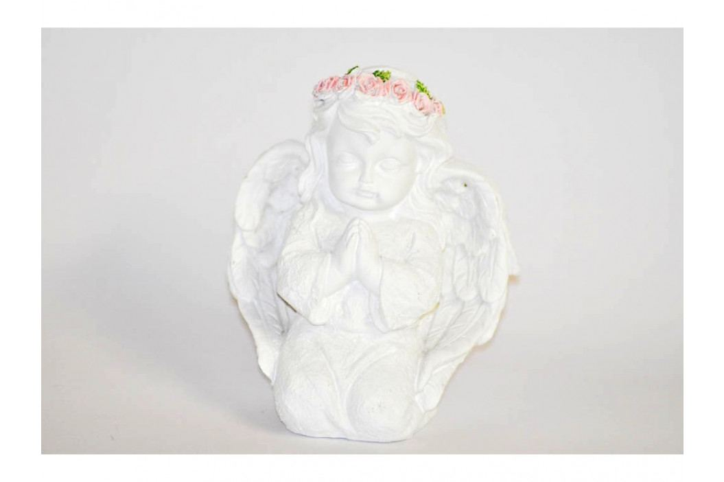 Anjel biely klačiaci 10cm