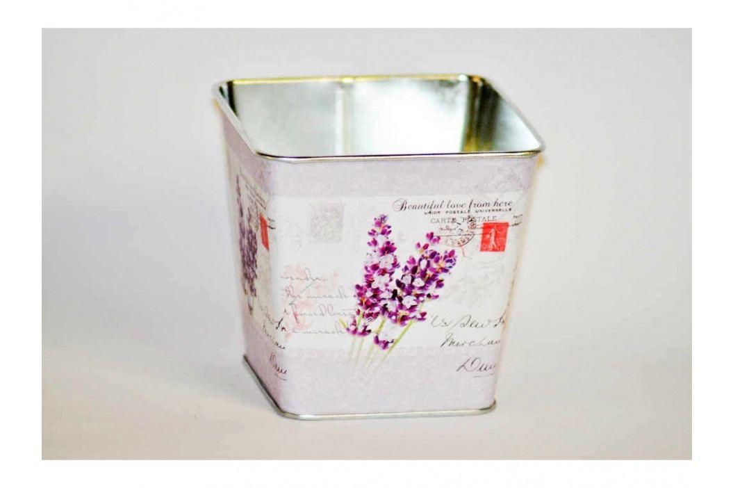 Kvetináč plech hranatý 9,5cm L