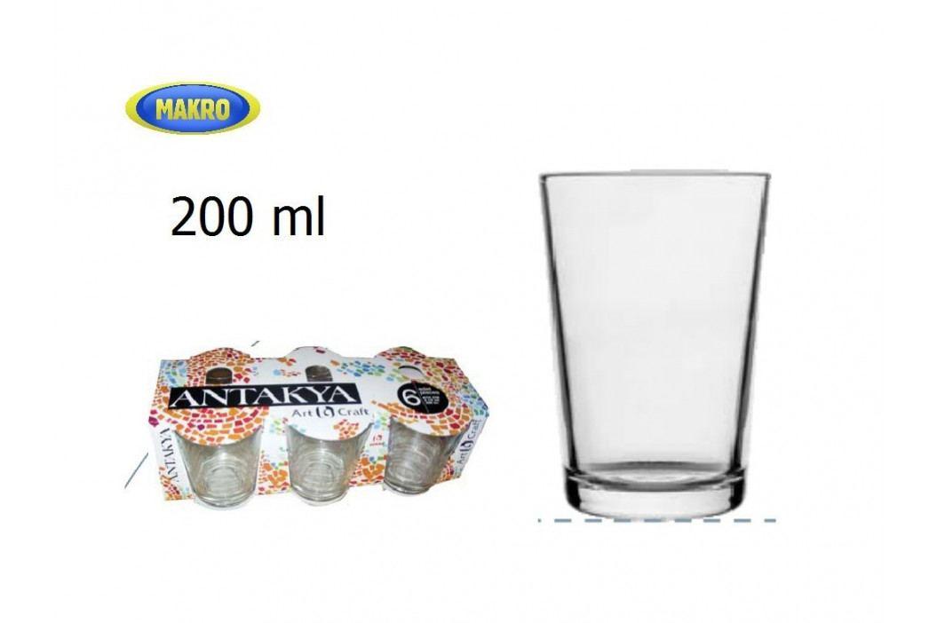 Sp.pohárov 6ks 52052