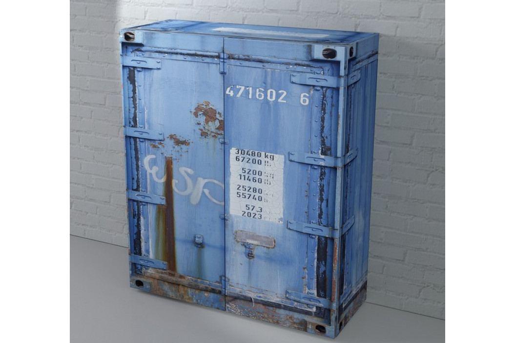 Rusty 1, modrá
