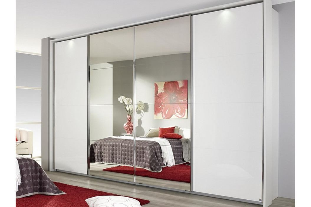 Syncrono, 316 cm, biela/zrkadlo