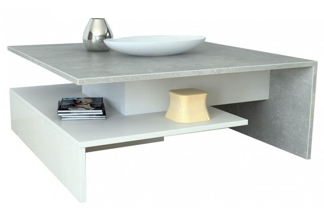 AS-53, beton/biely