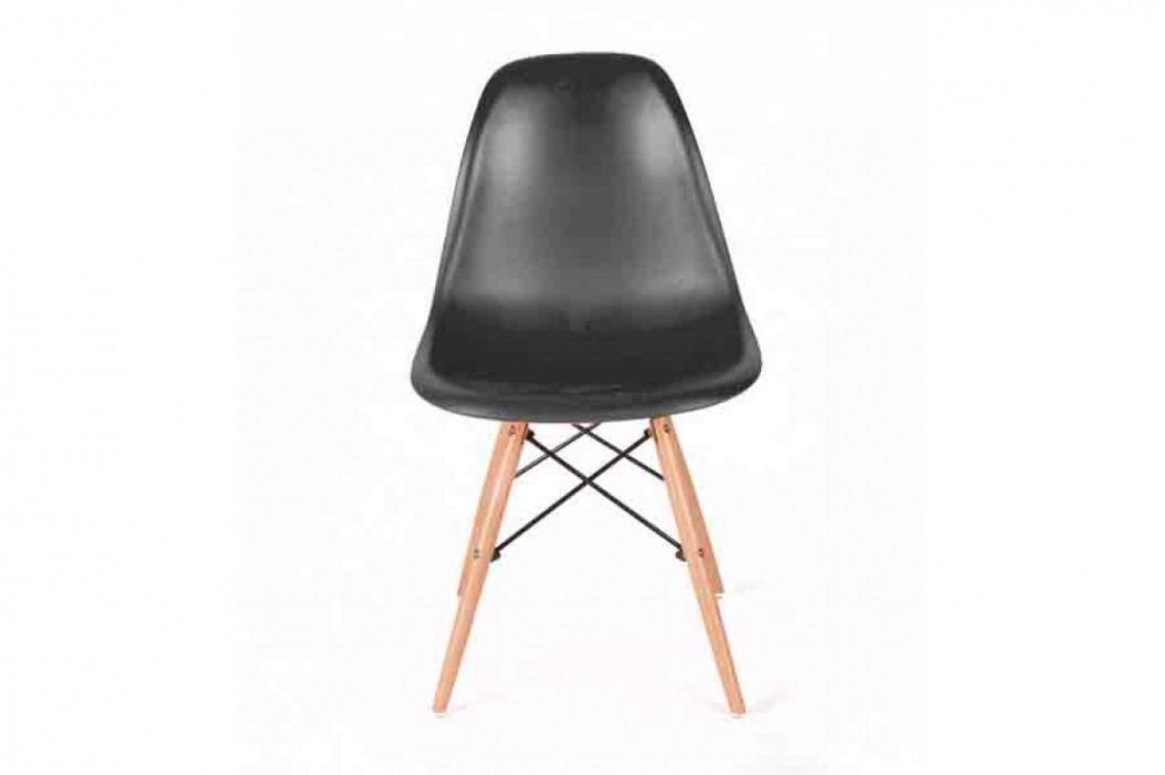 Stolička enzo - čierny - výpredaj