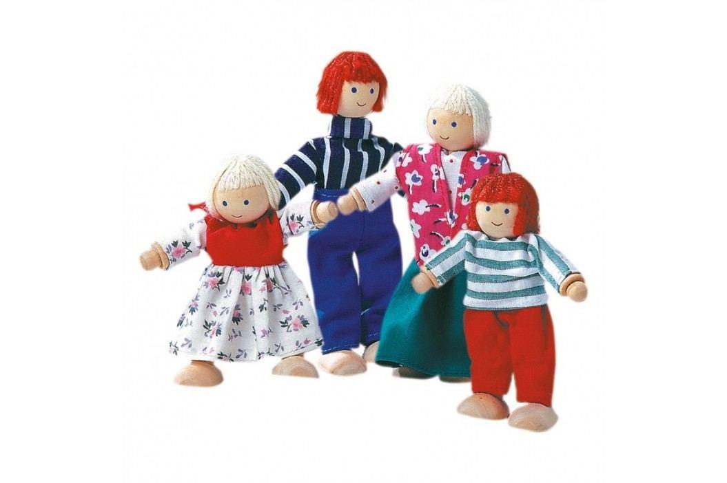 Bino - 83540 Bábiky do domčeka Rodina