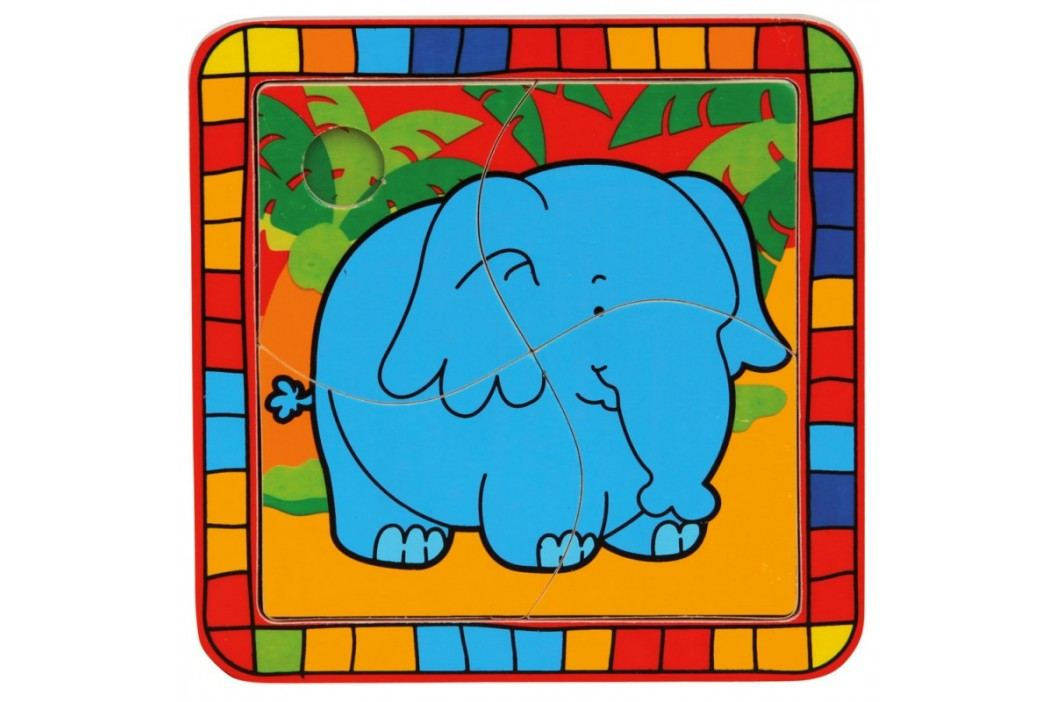 Bino - 88003 Puzzle Sloník