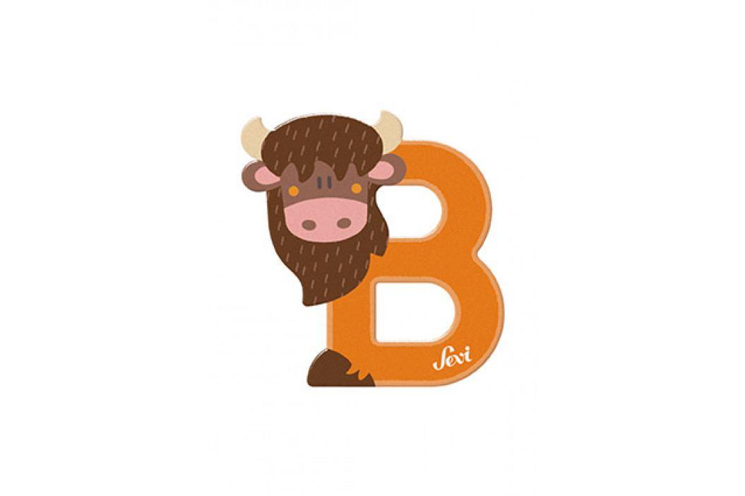 SEVI - Písmenko B - Zvieratko