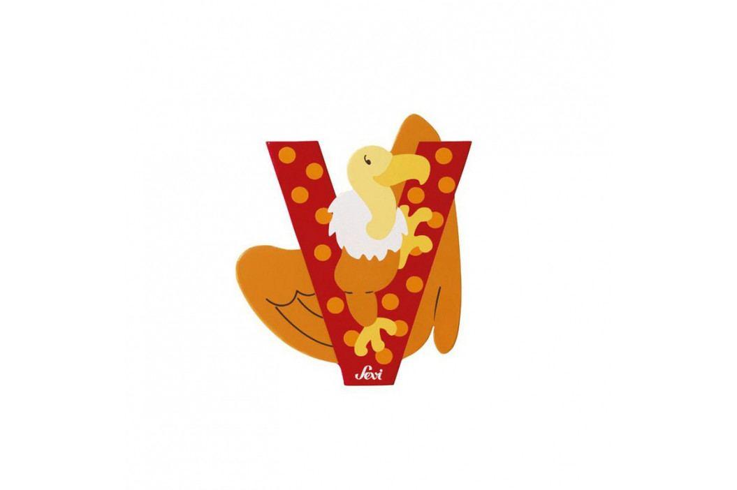 SEVI - Písmenko V - Zvieratko