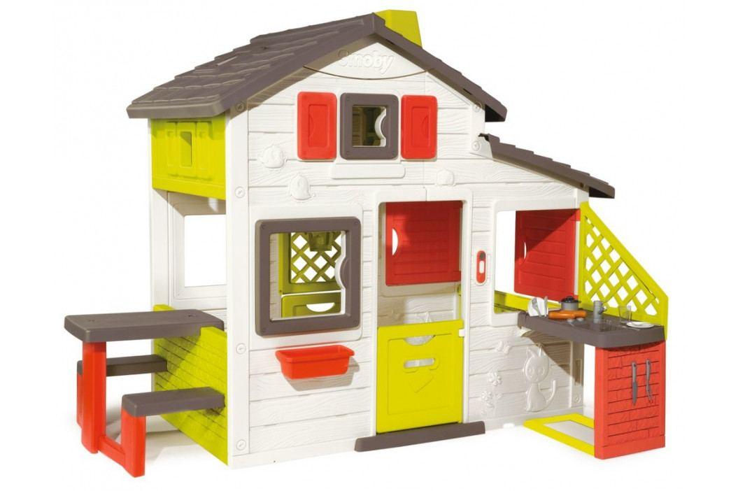 SMOBY - Domček Friends House S Kuchyňou A Vodou