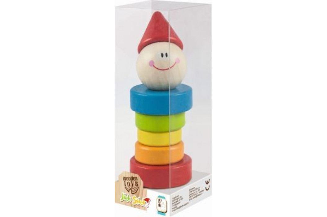 TREFL - Drevený klaun