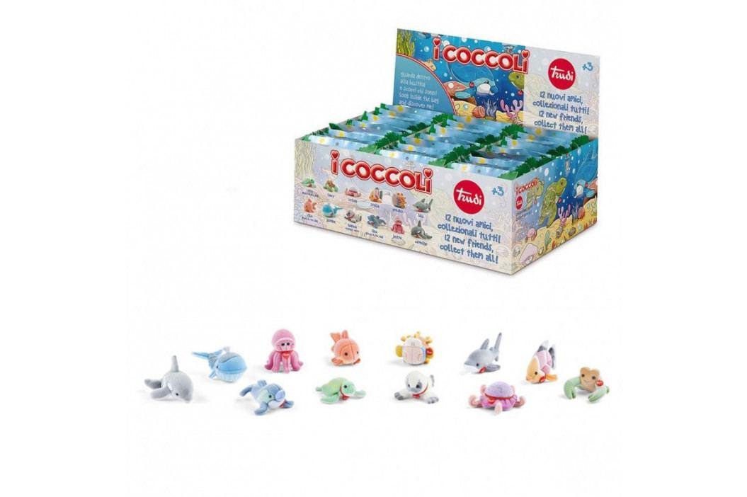TRUDI - I COCCOLI - Mini plyšové morské zvieratká 48 ks
