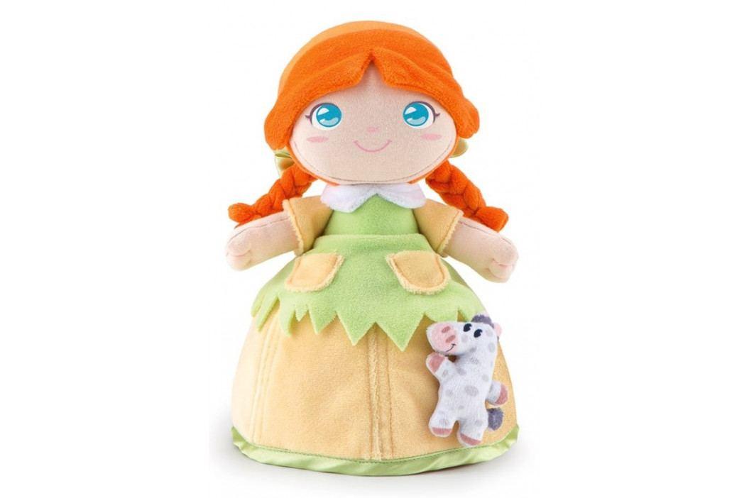 TRUDI - Plyšová bábika  Polly so zvieratkom - zelená