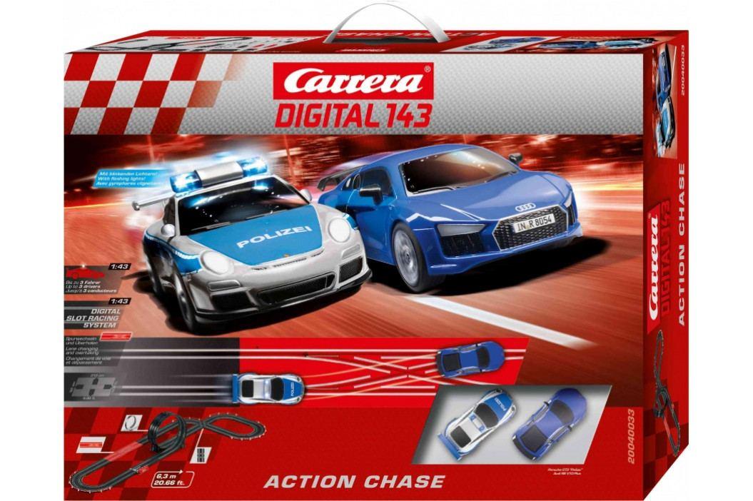 CARRERA - Autodráha Carrera D143 40033 Action Chase