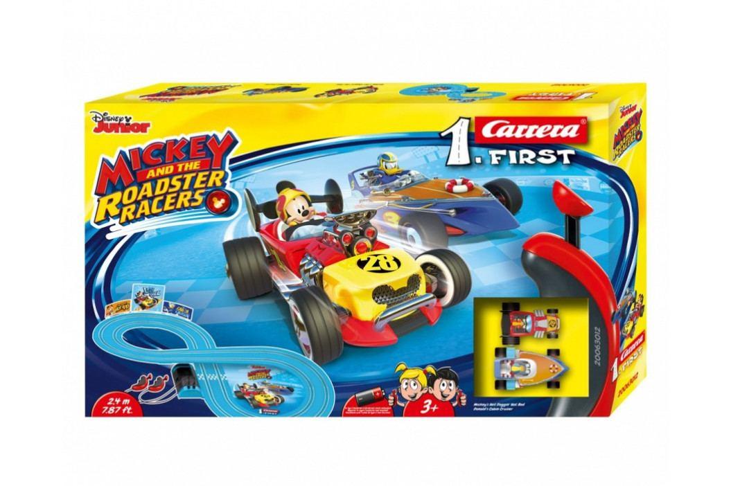 CARRERA - Autodráha Carrera FIRST - 63012 Mickey Racers