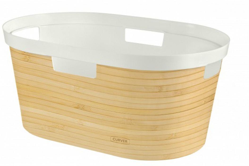 CURVER - Kóš na prádlo Bamboo 40l