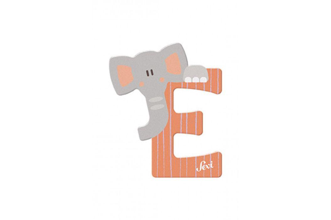 SEVI - Písmenko E - Zvieratko, Oranžová