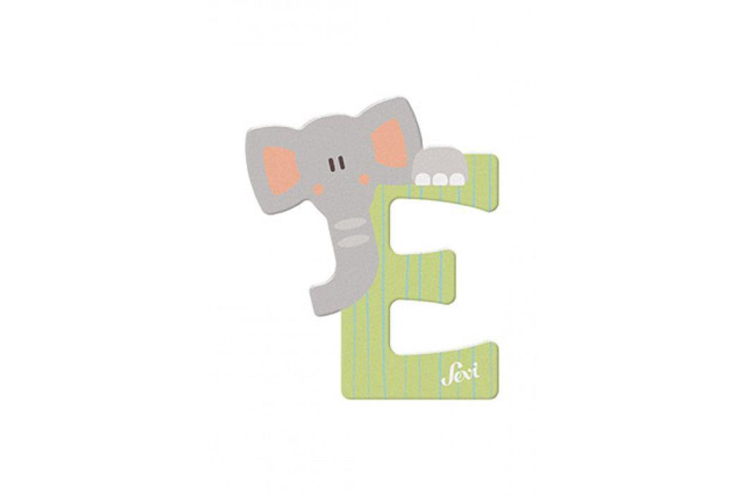 SEVI - Písmenko E - Zvieratko, Zelená