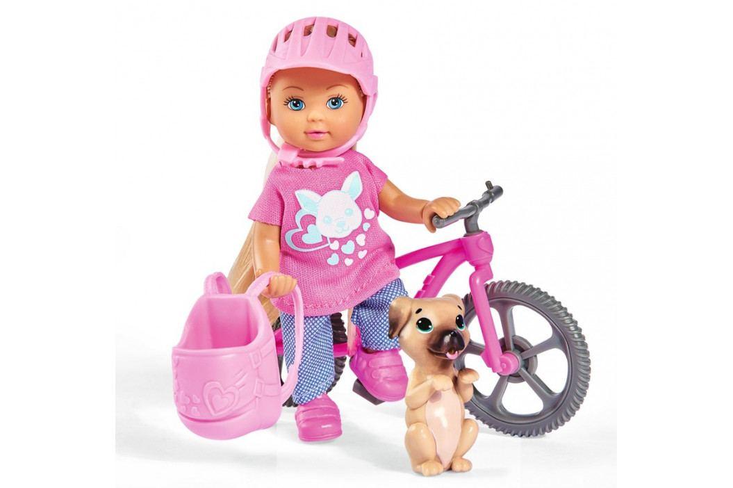 SIMBA - Bábika Evička s bicyklom