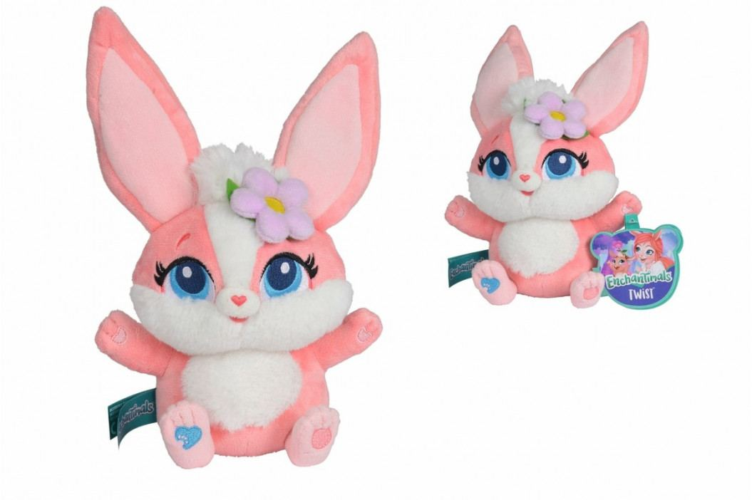 SIMBA - Enchantimals Plyšový králiček Twist 35 cm