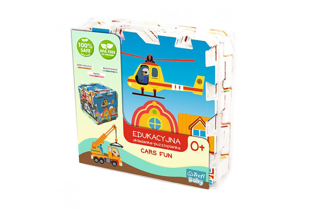TREFL - penové puzzle City Cars FUN