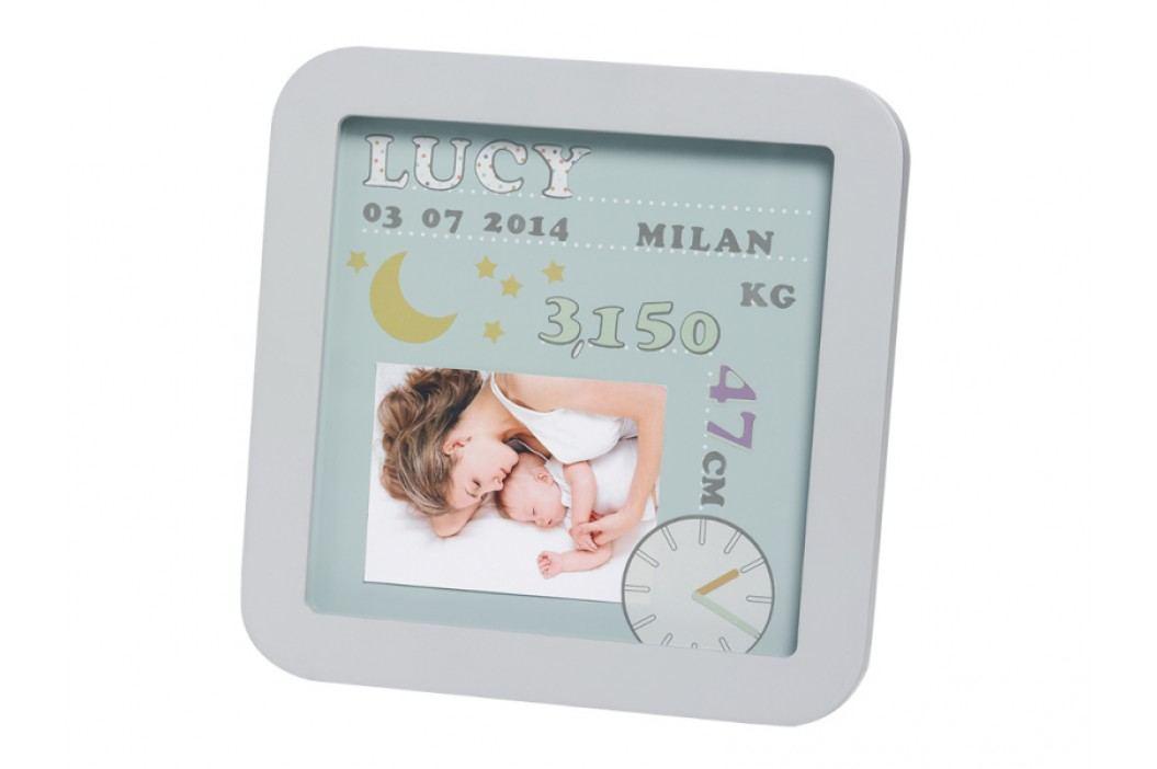 BABY ART - Rámček My Birth Date Pastel