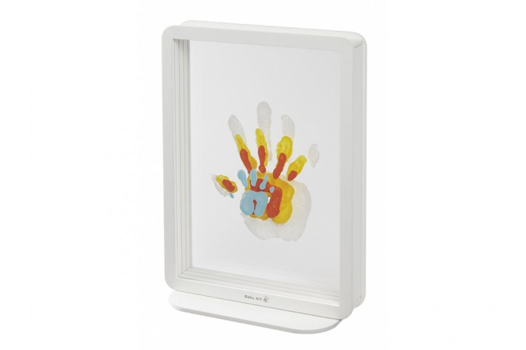 BABY ART - Rámček Superposed Handprints White