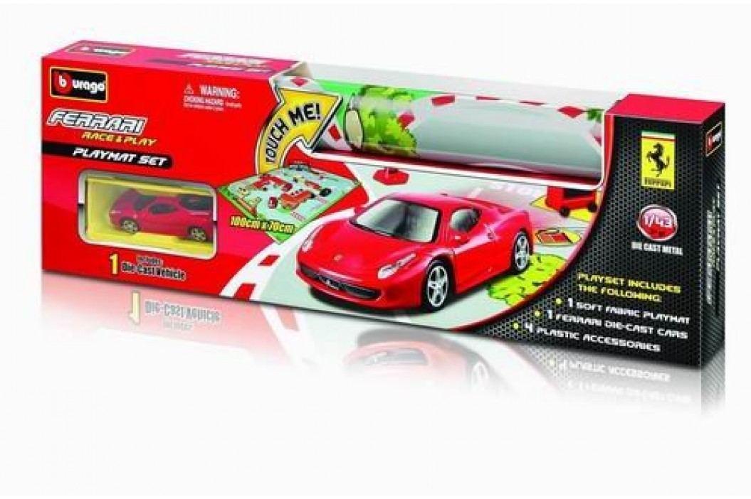 BBURAGO - Ferrari Playmat s jedným autíčkom 31235