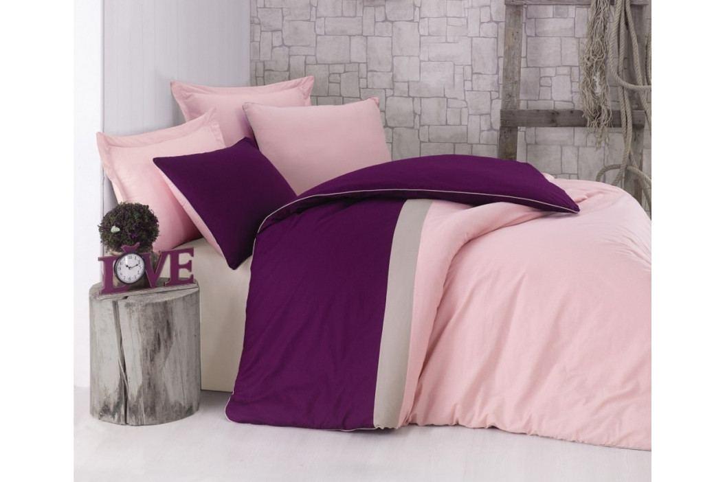 Cottonbox povlečení 100% bavlněné renforcé Burgundy Pink - 140x220 / 70x90 cm