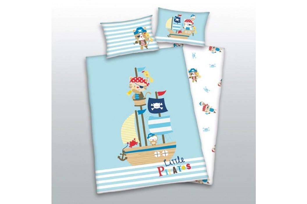 Herding Herding obliečky pre bábätkáa Malí piráti 135x100,40x60