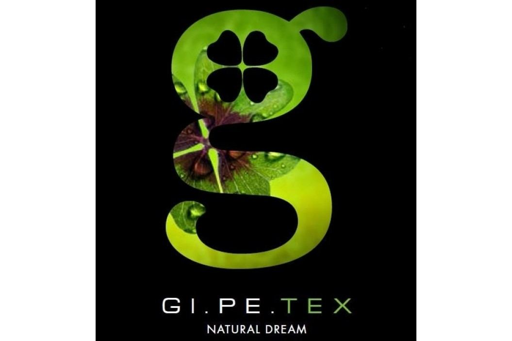 Gipetex Natural Dream Talianske obliečky 100% bavlna Pois béžová - 140x200cm / 70x90cm