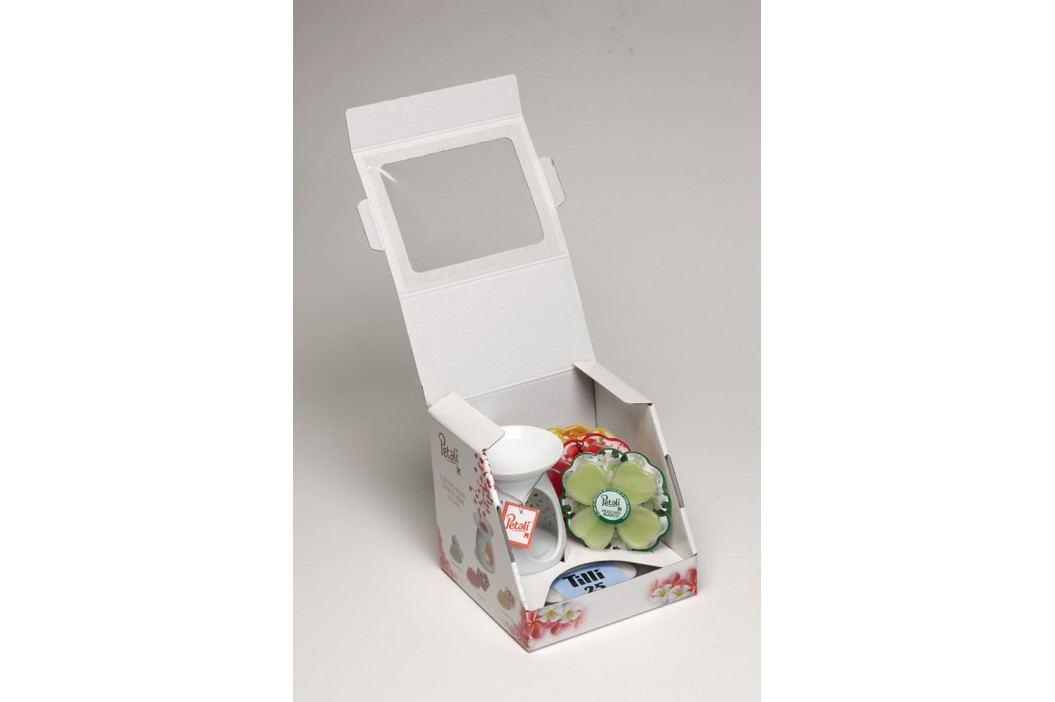 Price´s PETALI luxusná aromalampa+sada voskov a čajových sviečok