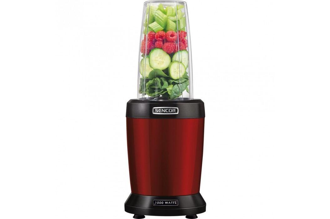 Sencor SNB 4301RD nutri mixér, červená