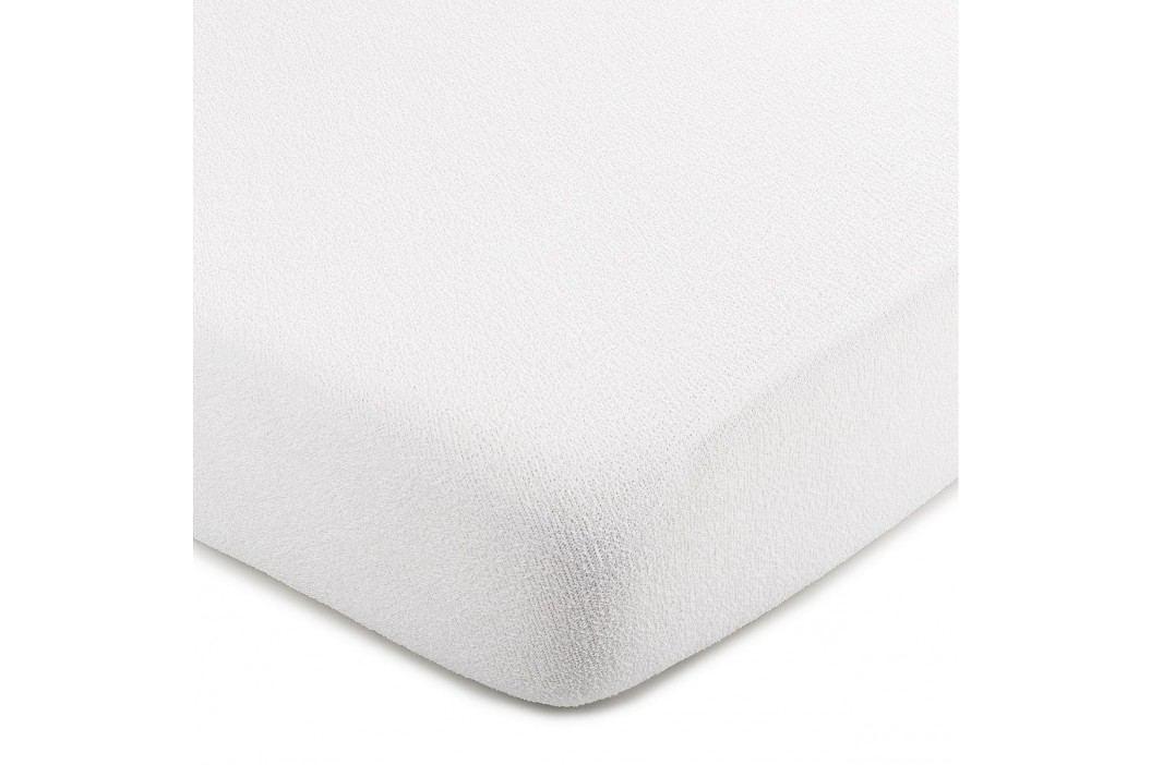 froté prestieradlo biela, 160 x 200 cm