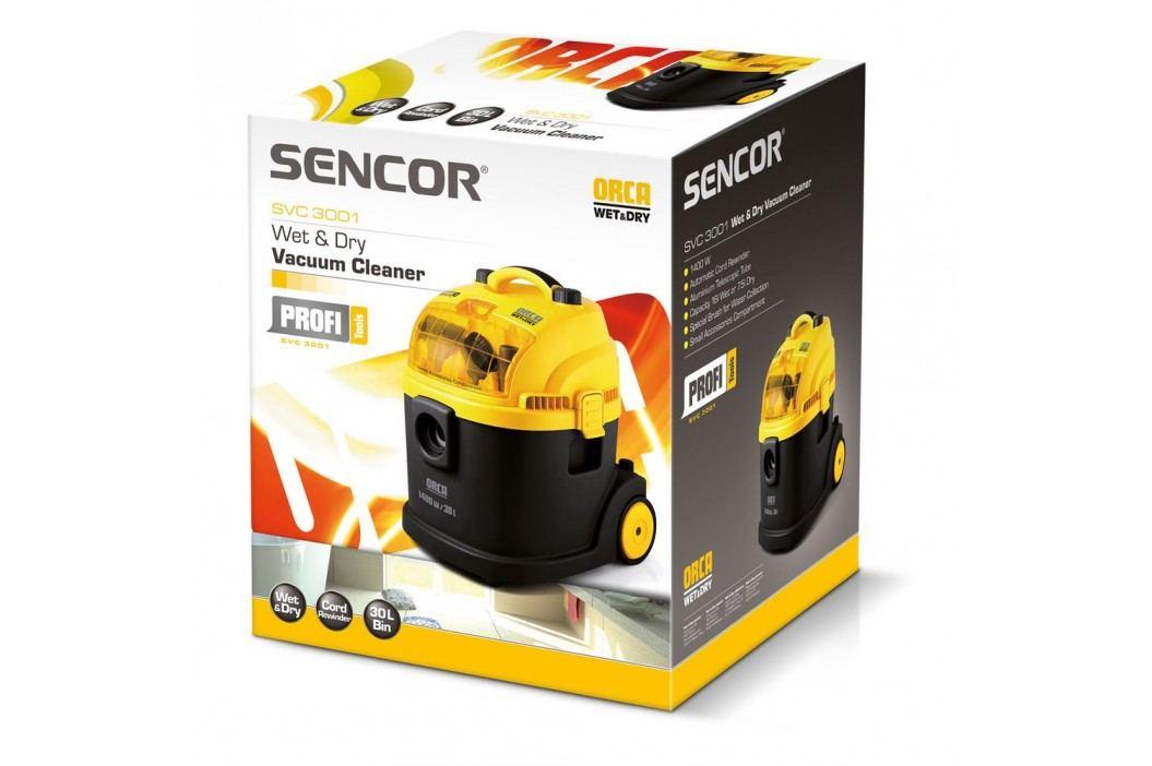 Sencor SVC 3001 Wet & Dry vysávač,